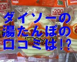 ダイソー 湯たんぽ