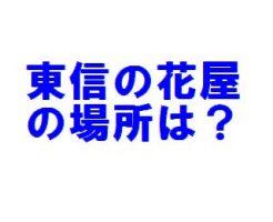 東信(花屋)