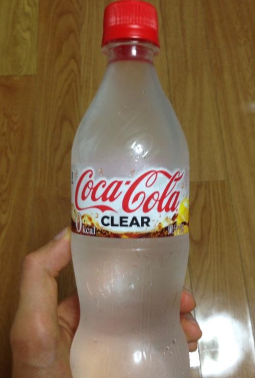 透明なコーラ